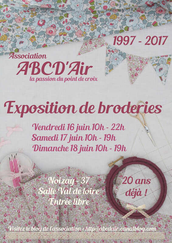 Affiche Exposition 20 ans ABCDAir 2017