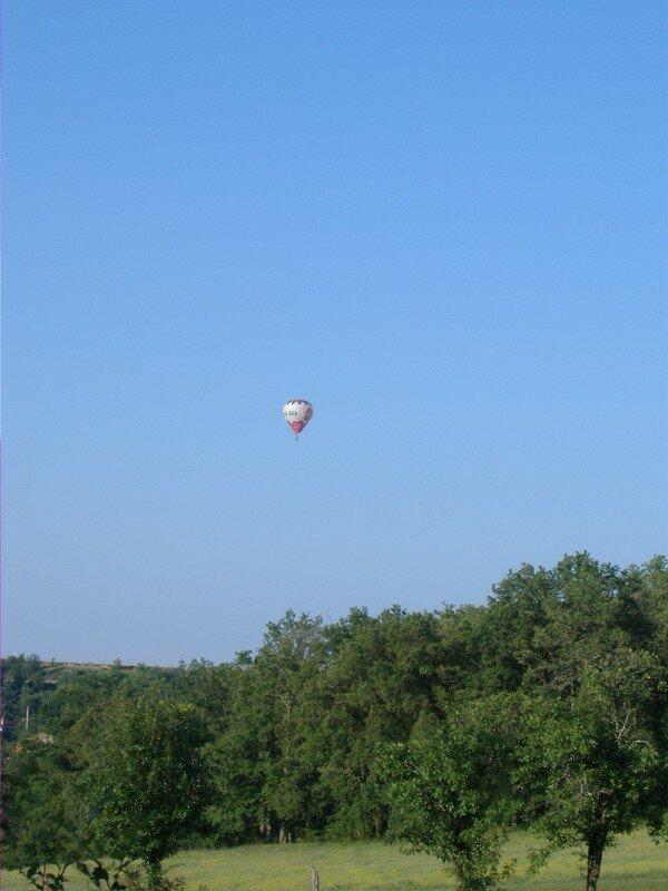Pèlerinage en montgolfière