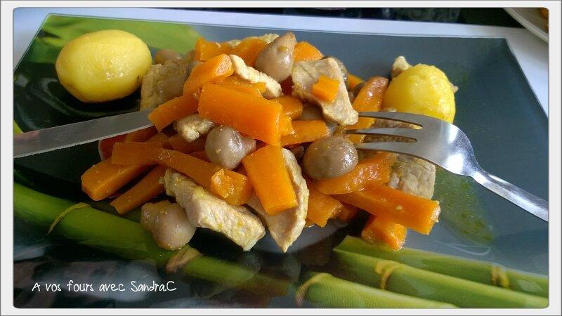 Porc pomme de terre carotte