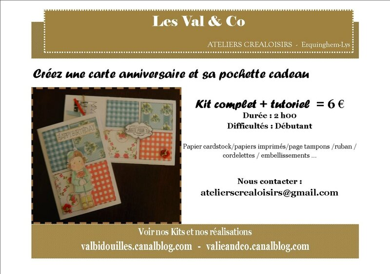 flyer carte et pochette scrap 2