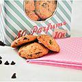 Cookies au chocolat, pistache et noix {parce que c'est si bon quand c'est fait maison!}