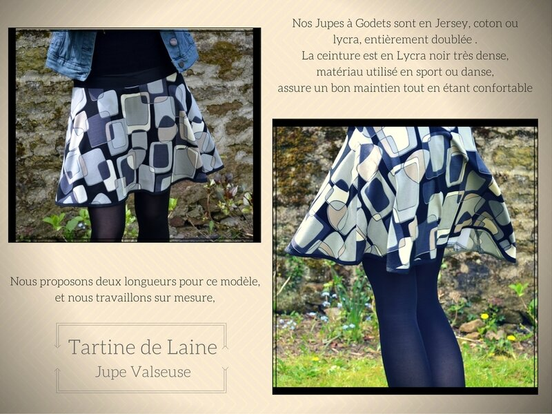 JUPE VALSEUSE POP