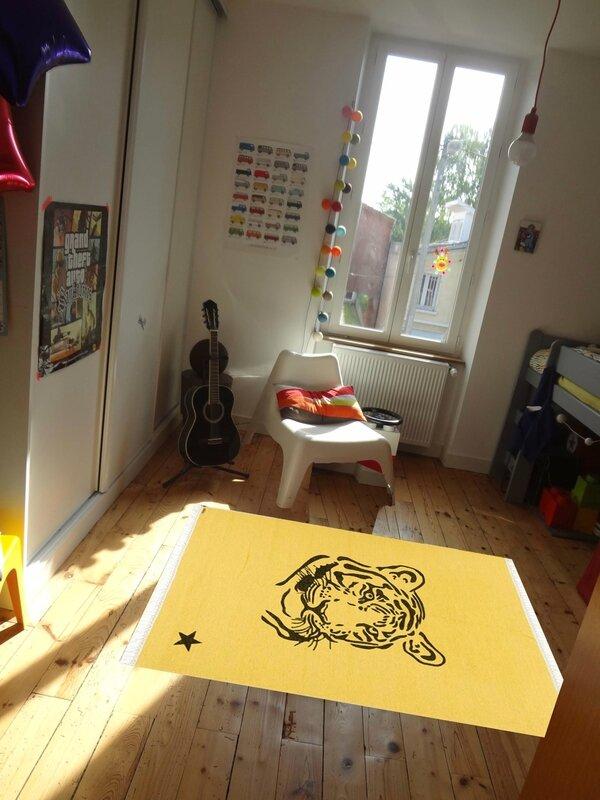 tapis Varanassi Gypsy tigre-My little bazar
