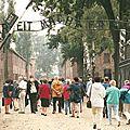 Auschwitz, entrée du camp (Pologne)