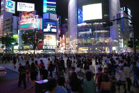 Shibuya_samedi_soir