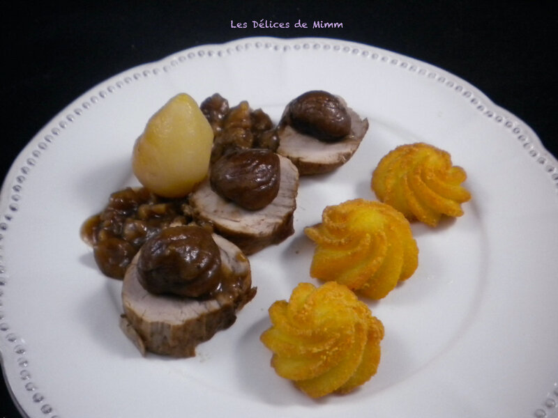 Filet mignon aux marrons 2