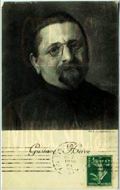 Gustave Hervé portrait