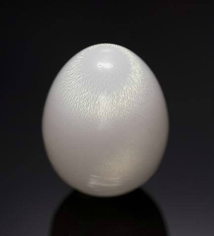 Rare Large Natural White Non-Nacreous Pearl—from