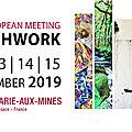 Carrefour européen du patchwork - 12 au 15 septembre 2019