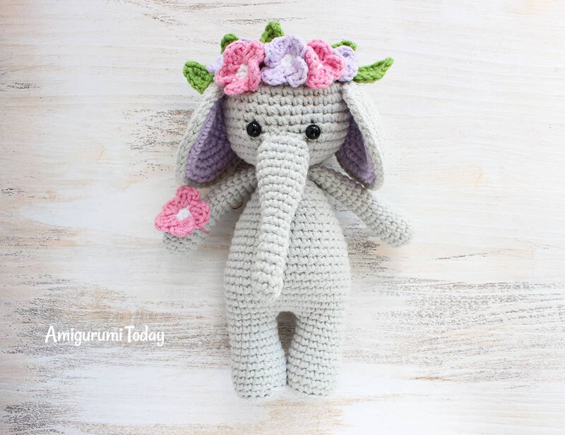 Cuddle-Me-Elephant-Crochet-Pattern