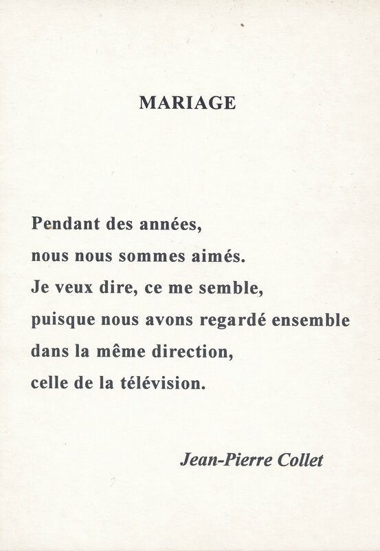 01 Mariage (Jean-Piere Collet)