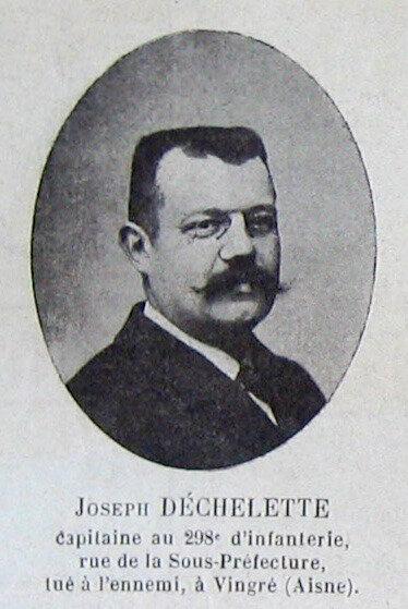 Joseph Déchelette, photo