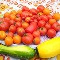 Tomates et mirabelles !