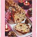 Cake de noël aux figues noisettes et chèvre (en apéritif avec le foie gras)