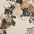 Wu changshuo (1844-1927), courges