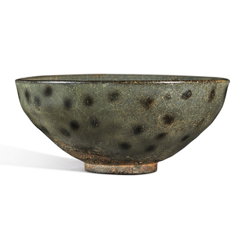 A rare black-dotted 'Jian' bowl, Southern Song dynasty