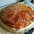 Galette frangipane - by claire -