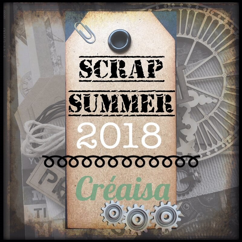 2018_07 Créaisa Scrap Summer kit