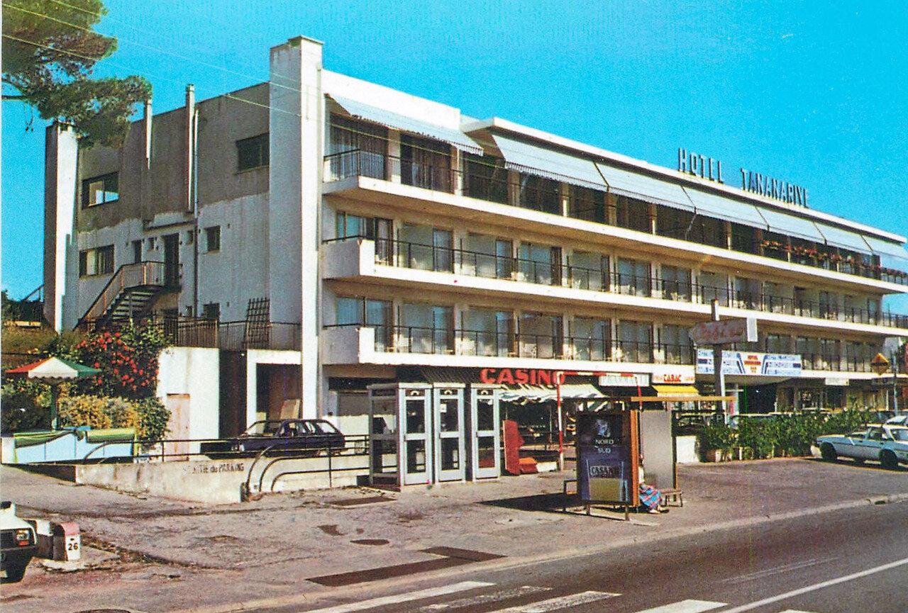 Antibes, la résidence Plein Azur et l'hotel Tatanarive