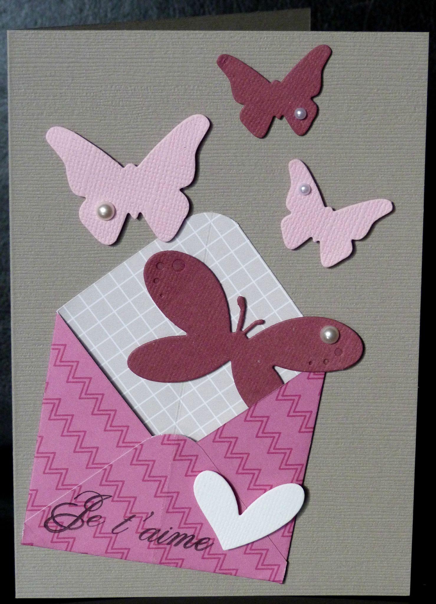 46. greige, rose et violine - envolée de papillons