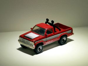 Dodge dakota ST de chez Matchbox 01