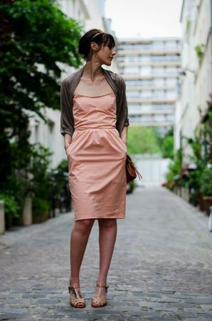 robe pêche-abricot 2