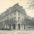 Cazi maurice (vendoeuvres) + 12/12/1915 à l'hôpital majestic à paris 16 (75)