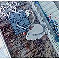 Album naissance 1er âge : blue baby girl