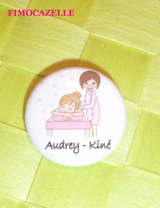 Badge audrey