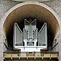Karlsruhe (iv) : orgue de l'église catholique saint-étienne