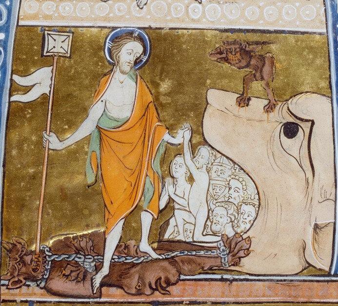 Christ vainqueur de la mort, psautier