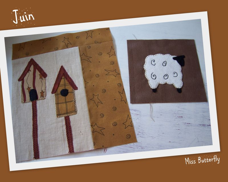 Marie et son country quilt Juin