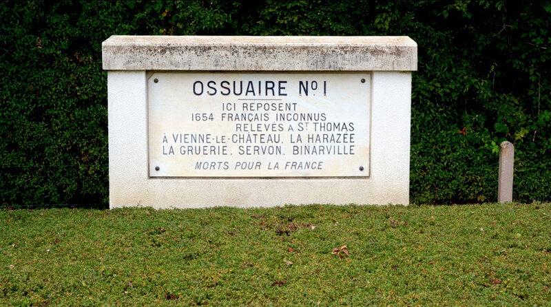ossuaire 1 La Harazée
