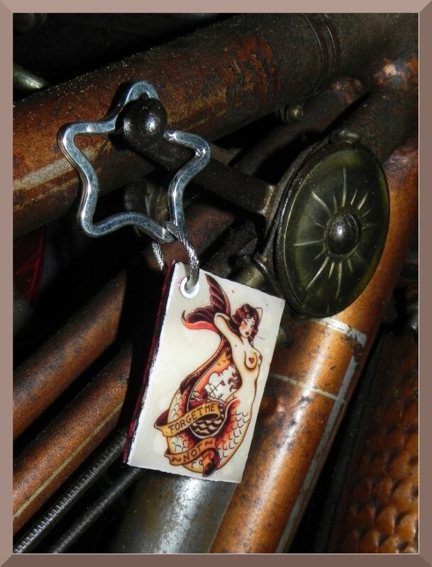 Porte clé Sirène