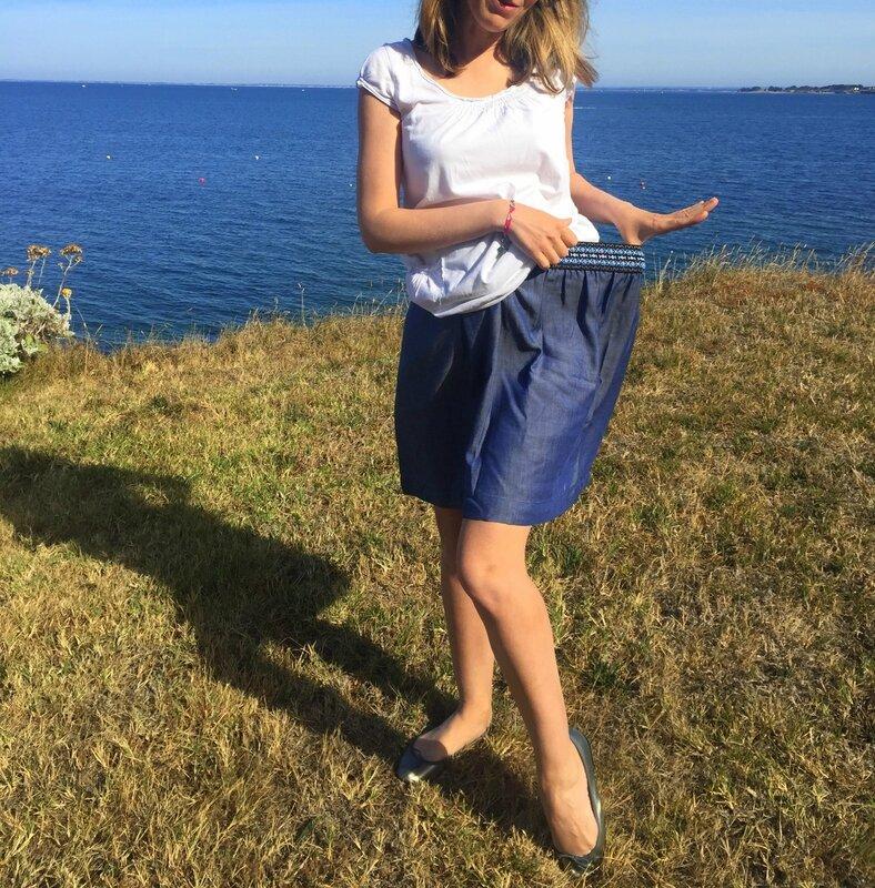 Blue skirt (3)