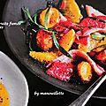 Salade de truite fumée aux agrumes
