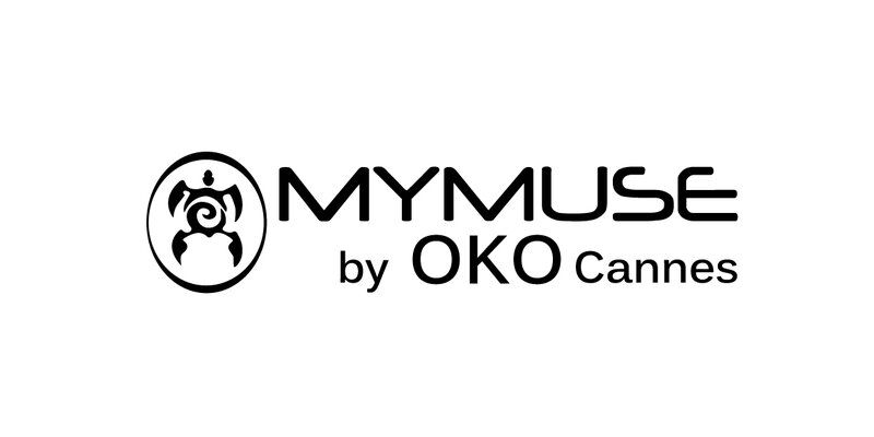 Logo MYMUSE by OKO Cannes