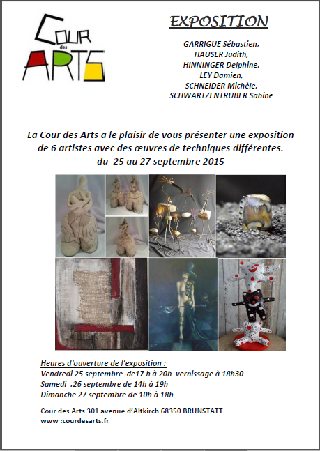Expo septembre 2015 Brunstatt
