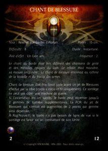 Barde d'Alahan sur destrier - chant_de_blessure (sort)