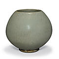 A rare green jun bud-form water pot, song-jin dynasty, 12th-13th century