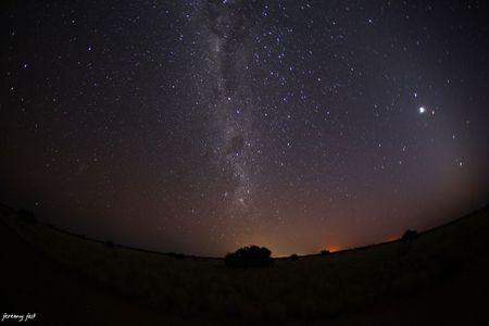nuit etoilée kalahari