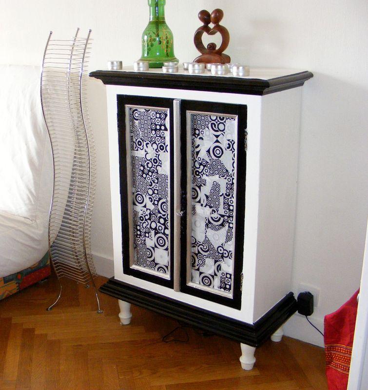 Meuble Customisé Peinture un meuble customisé - le scrap de maë