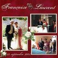 mariage laurent