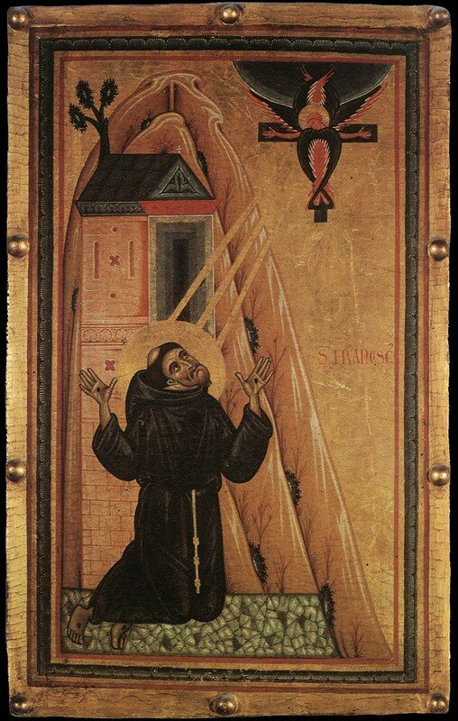 icône de la Stigmatisation de Saint François