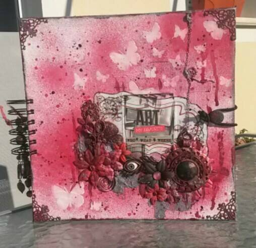 album art journal