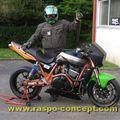004 - preparation de la moto, 1er roulage
