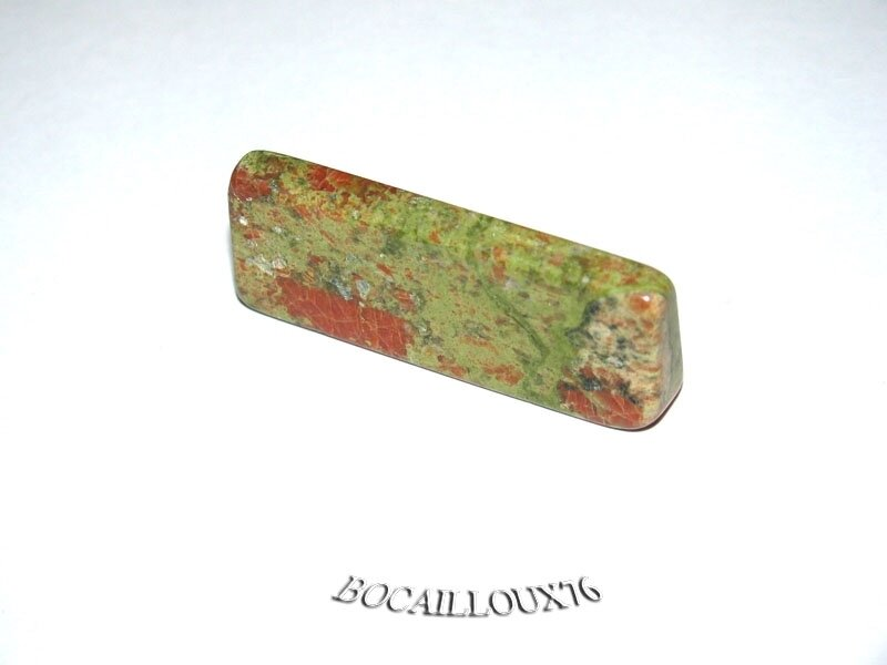 Porte COUTEAU UNAKITE 8 - 42x17x8 mm - Art de la TABLE