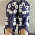 Chaussons african flower