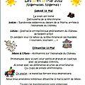 Fête de la saint-sulpice à nogent-le-roi, les 12 et 13 mai prochains