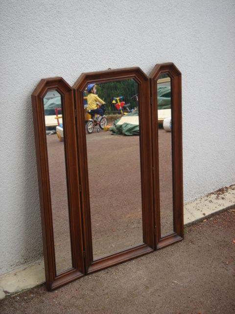 Miroir tryptique